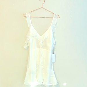 BNWT Cotton Candy Flirty Chiffon Dress, M